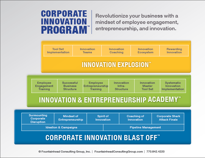 Diagram - Corporate Innovation Program
